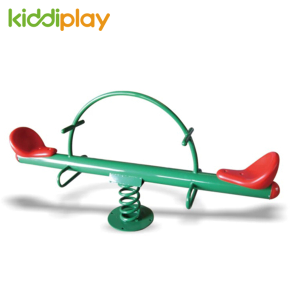 Amusement Park Outdoor Children Toy on The Seesaw