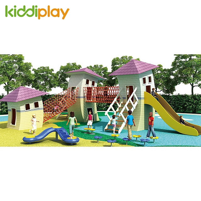 Professional Design Outdoor Wooden Series Kids Playground Equipment for Sale