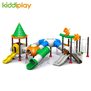 2018 Hot New Children Game Castle Series Slide Outdoor Playground