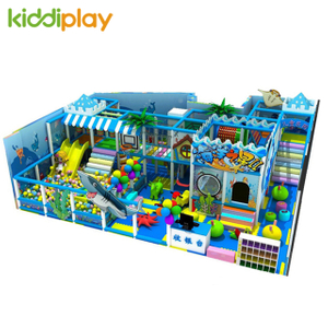 Kids Play Attractive Indoor Homemade Playground Equipment Newest Space Style