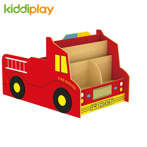 Kindergarten Furniture Car Design Book Storage For Children