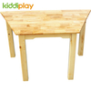 School Wooden Table And Chair