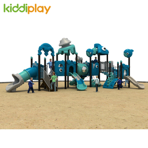 Child Factory Sale Small Outdoor Ocean Series Playground Equipment