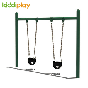Single Column Double Baby Swing