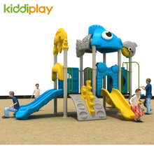 Small Children Park Plastic Slide Outdoor Playground Equipment