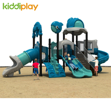 Children Kindergarten Playground Plastic Slide