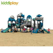 Outdoor Playground Dream Ocean World Slide Equipment
