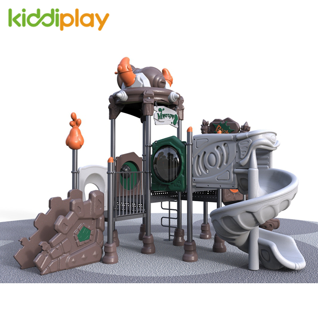 Plastic Children Outdoor Slide Playground Equipment