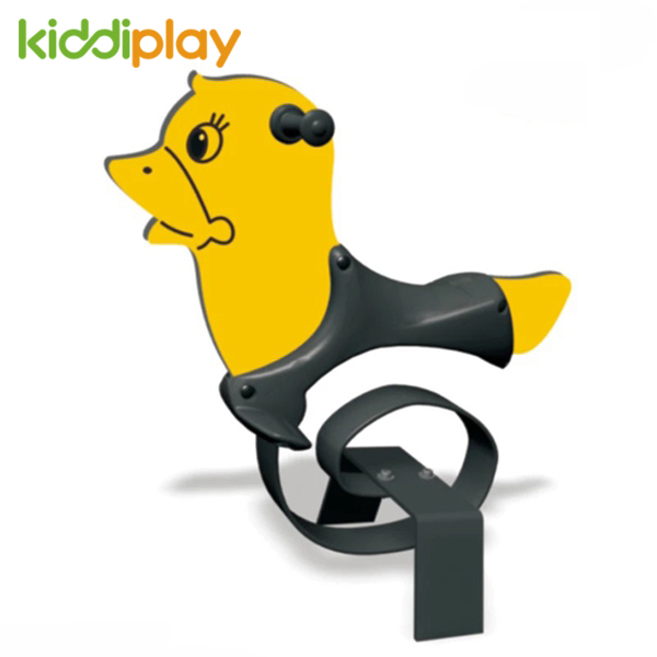 Kids Toy Yellow Duck Spring Rider Playground Equipment