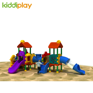 Drop Shipping Used Commercial Kids Plastic Outdoor Playground Equipment