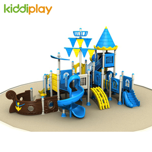 Hot Commercial Used Pirate Ship Series Children Outdoor Playground Equipment