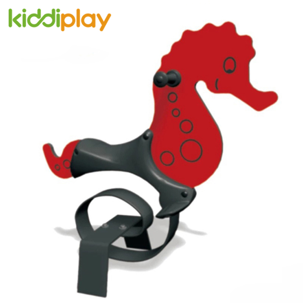 Kids Toy Seahorse Spring Rider Playground Equipment