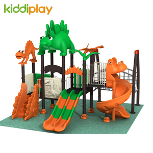 Outdoor Natural Playground Equipment Custom Dinosaur Series For Kids