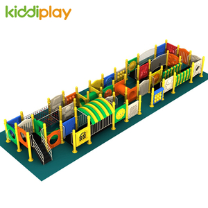 Outdoor Maze Playground Equipment Small Series For Children