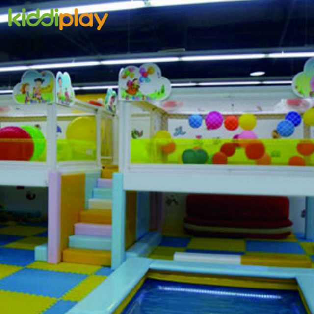 Factory Price Indoor Playground Electric Motion Soft Toys Cute Small Indoor