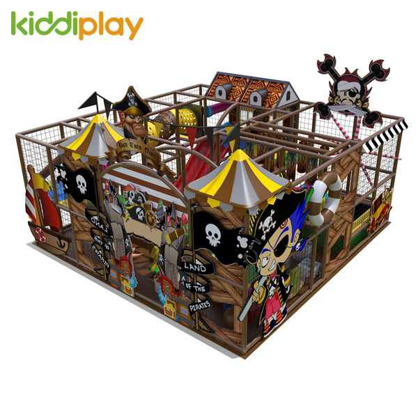 Pirate Ship Theme Soft Play Kids Indoor Playground Equipment