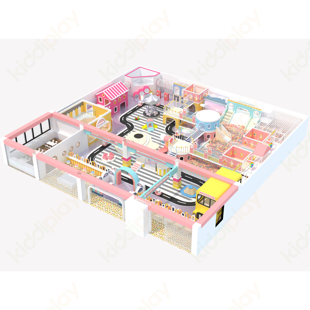 Amusement Park Soft Play Children Indoor Playground Sets Equipment Ball Pool Kids Toys