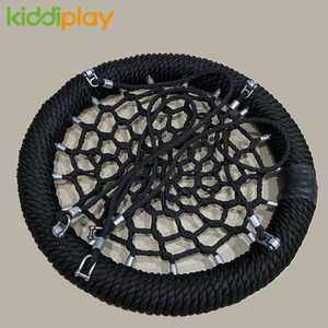 Outdoor Playground Kids Swing Set Parts Rope Crocheted Seat