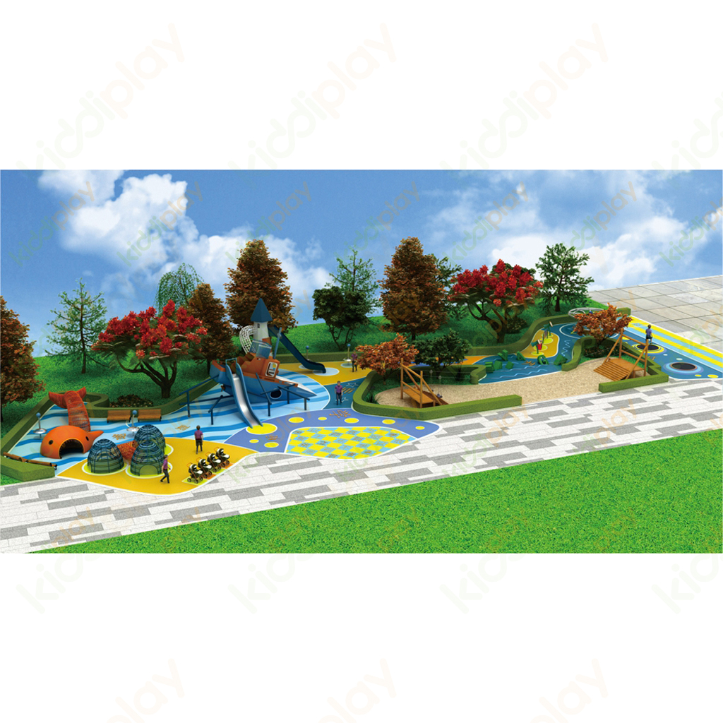 Customized Outdoor Playground Big Slide