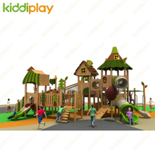 Most Popular Kids Play System Wooden Outdoor Rides Amusement Equipment for Kids