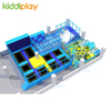 KD11074A Blue Ocean Tone Ocean Ball Indoor Playground Large Trampoline Park