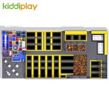 KD11084A Trends Design Kids Playground Trampoline Park Center