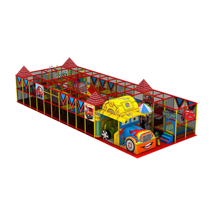 New Design Car Theme Kids Indoor Playground Amusement Park Equipment Naughty Castle