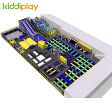 KD11062A Hot Sale Multi-function Free Jump Indoor Playground Trampoline Park Center