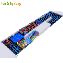 KD11057B Customized And Hot Trampoline Park According To Field