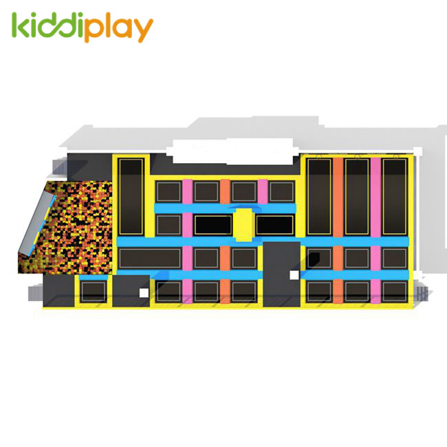 KD11076A Large Free And Professional Jumping Area Trampoline Park Center