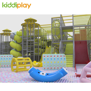KD11056A Popular Play Center Trampoline Park with Maze Ninja Parkour