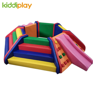Mini Kids Indoor Playground Soft Play Equipment Ball Pit for Toddler Play Sale