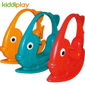 Fish Type Kids Toy Plastic Ride Kindergarten for Fun