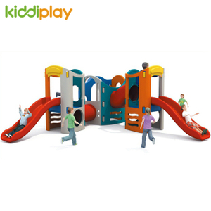 Children Play Toy Outdoor Large Plastic Slide And Swing for Garden