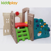 Indoor Lovely Castle Toys Plastic Slide And Swing
