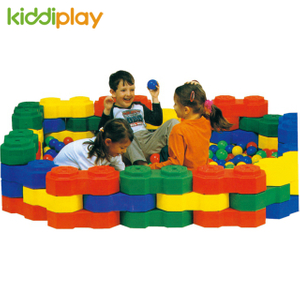 Model Assembling Children Plastic Building Blocks