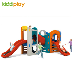 Hot Sale Children's Plastic Slide And Swing Play Toy for Garden